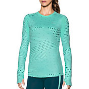 Under Armour Women's ColdGear Graphic Crewneck Long Sleeve Shirt