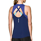 Under Armour Women's Fly-By Fitted Tank Top
