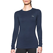 Under Armour Women's ColdGear Fitted Long Sleeve Crewneck Shirt