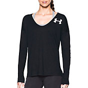 Under Armour Women's Favorite Collegiate Back Graphic Long Sleeve Shirt