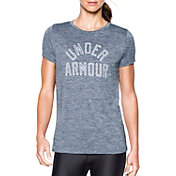 Under Armour Women's Graphic Twist Print Tech Crewneck T-Shirt