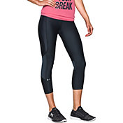 Under Armour Women's Printed HeatGear Compression Capris 2.0
