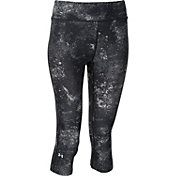 Under Armour Women's HeatGear Alpha Compression Printed Capris
