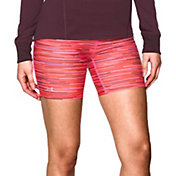 Under Armour Women's HeatGear Armour Printed Shorts – Mid Length