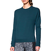 Under Armour Women's Modern Terry Crewneck Long Sleeve Shirt
