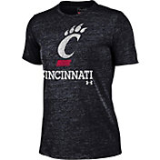 Under Armour Women's Cincinnati Bearcats Triblend Black T-shirt