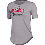 Under Armour Women's Cincinnati Bearcats Grey 60/40 T-Shirt