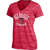 Under Armour Women's Texas Tech Red Raiders Red UA Space Tech V-Neck T-Shirt