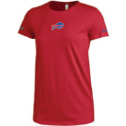 Under Armour NFL Combine Authentic Women's Buffalo Bills Logo Tech Red Performance T-Shirt