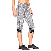 Under Armour Women's Fly-By Printed Running Capris