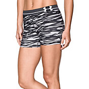Under Armour Women's HeatGear Armour Printed 3''Compression Shorts