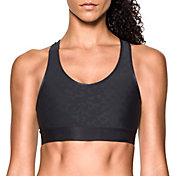 Under Armour Women's Armour Mid Embossed Sports Bra