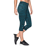 Under Armour Women's HeatGear Armour Printed Capris