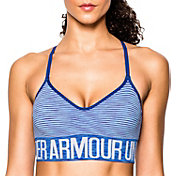 Under Armour Women's Armour Seamless Stripe Sports Bra w/Cups
