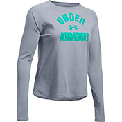 Under Armour Women's Tri-Blend Graphic Long Sleeve Shirt