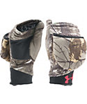 Under Armour Women's Camo Pop-Top Hunting Gloves