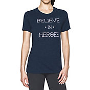 Under Armour Women's Believe in Heroes T-Shirt