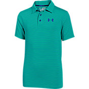 Under Armour Boys' Playoff Stripe Golf Polo