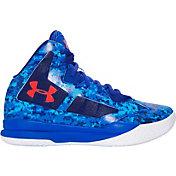 Under Armour Kids Grade School Lightning  Prt Basketball Shoes