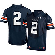 Under Armour Youth Auburn Tigers Navy #2 Replica Football Jersey