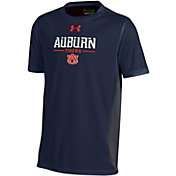 Under Armour Youth Auburn Tigers Blue Colorblock T-shirt