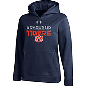 Under Armour Youth Auburn Tigers Blue Armour Fleece Hoodie