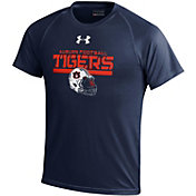 Under Armour Youth Auburn Tigers Blue Tech Performance T-Shirt