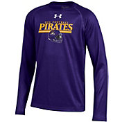 Under Armour Youth East Carolina Pirates Purple Long Sleeve Tech Performance T-Shirt
