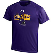 Under Armour Youth East Carolina Pirates Purple Tech Performance T-Shirt