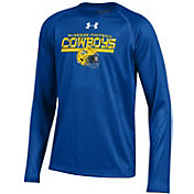 Under Armour Youth McNeese State Cowboys Blue Long Sleeve Tech Performance T-Shirt