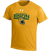 Under Armour Youth North Dakota State Bison Yellow Tech Performance T-Shirt