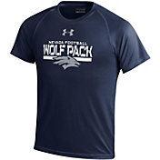 Under Armour Youth Nevada Wolf Pack Blue Tech Performance T-Shirt