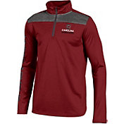 Under Armour Youth South Carolina Gamecocks Garnet UA Tech Quarter-Zip Shirt