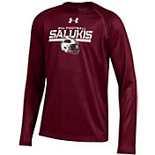 Under Armour Youth Southern Illinois  Salukis Maroon Long Sleeve Tech Performance T-Shirt