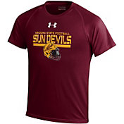 Under Armour Youth Arizona State Sun Devils Maroon Tech Performance T-Shirt
