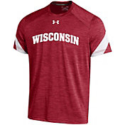 Under Armour Youth Wisconsin Badgers Red Microthread T-Shirt