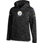 Under Armour NFL Combine Authentic Youth Pittsburgh Steelers Armour Fleece Black Hoodie