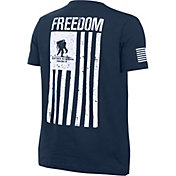 Under Armour Boys' Wounded Warrior Project Freedom Flag T-Shirt