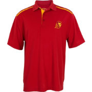 USC Authentic Apparel Men's USC Trojans Cardinal Premier Polo