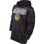UNK Men's Golden State Warriors Black Hooded Fleece
