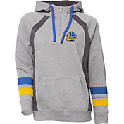 UNK Women's Golden State Warriors Grey Downtown Hooded Fleece