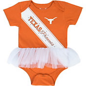 University of Texas Authentic Apparel Infant Girls' Texas Longhorns Burnt Orange Shelby Tutu Onesie