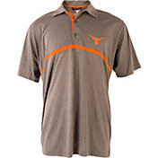 University of Texas Authentic Apparel Men's Texas Longhorns Grey Chatham Polo