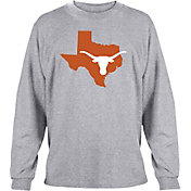University of Texas Authentic Apparel Men's Texas Longhorns Grey State Long Sleeve Shirt