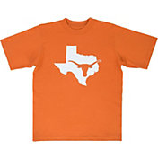 University of Texas Authentic Apparel Youth Texas Longhorns Burnt Orange State T-Shirt