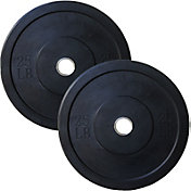 Valor Fitness 25 lb. Olympic Bumper Plate Set