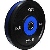 Valor Fitness 45 lb. Olympic Bumper Plate Pro