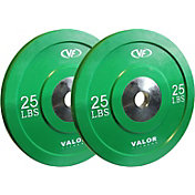 Valor Fitness 25 lb. Olympic Bumper Plate X Set