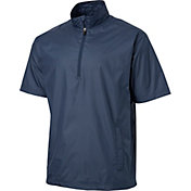 Walter Hagen Men's Half Sleeve Half-Zip Golf Jacket