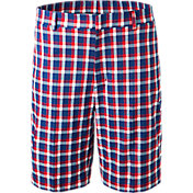 Walter Hagen Men's Americana Plaid Golf Shorts